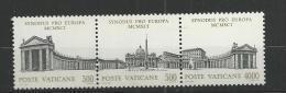 1991 MNH Vaticano, Vatikanstaat, Mi 1043-45,  Postfris - Unused Stamps