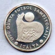 TURKEY, 20.000 Lira, Silver, Year 1990, KM #995 - Turchia