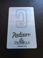 Hotelkarte Room Key Keycard Clef De Hotel Tarjeta Hotel  RADISSON DECA POLIS PANAMA CITY - Phonecards