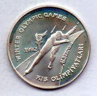 TURKEY, 20.000 Lira, Silver, Year 1992, KM #1077 - Turchia