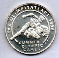 TURKEY, 50.000 Lira, Silver, Year 1995, KM #1045 - Turchia