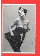 FEMME NU Cp Animée PIN UP P 234 Photographe Bauret * Format 15 Cm X 10.5 Cm - Pin-Ups