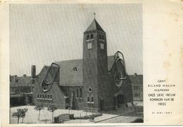 GENT - GAND :  Eiland Malem Hulpkerk   ( 15 X 10.5 Cm - Gent