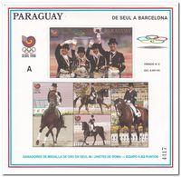 Paraguay 1989, Postfris MNH, Sport, Horse - Paraguay