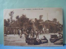 DAMAS (SYRIE) LA GARE DE BARAMKE.  101_ 0141GRT - Siria