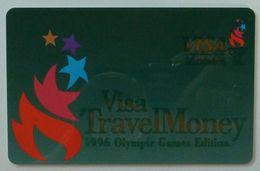 USA - VISA TRAVEL MONEY- Atlanta 1996 - Olympic Games Edition - Barnett Banks - Carte Di Credito (scadenza Min. 10 Anni)