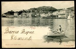 CV3174 PEGLI (Genova GE) Veduta Dal Mare, FP, Viaggiata 1904 Per Milano, Ottime  Condizioni - Genova (Genoa)