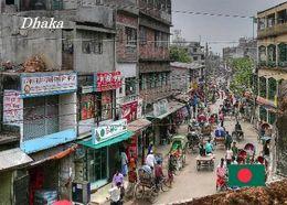 Bangladesh Dhaka Street View New Postcard Bangladesch AK - Bangladesh