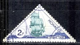 MC+ Monaco 1953 Mi 42-43 Schiffe GH - Postage Due