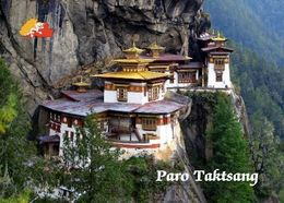 Bhutan Paro Taktsang Tiger's Nest New Postcard - Bhoutan