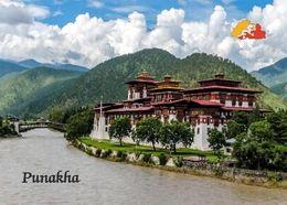 Bhutan Punakha Dzong New Postcard - Bhutan