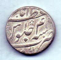 INDIA - MUGHAL EMPIRE, 1 Rupee, Silver, Year 4 (AH 1170), KM #460.5 - Indien