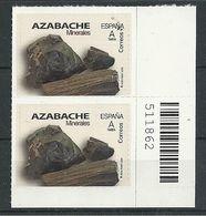 ESPAÑA 2020 - Minerales - Azabache ** - 1931-Oggi: 2. Rep. - ... Juan Carlos I