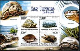 D - [31549]SUP//**/Mnh-c:18e-BURUNDI 2011 - Les Tortues - Turtles