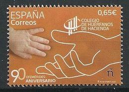 ESPAÑA 2020 - 90 Aniv. Colegio De Huérfanos De Hacienda ** - 1931-Oggi: 2. Rep. - ... Juan Carlos I