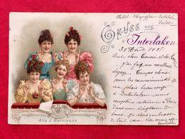 LES 5 SOEURS BARRISONS - 5 BARRISON'S SISTERS - AILE 5 BARRISSONS - Cabarets