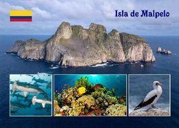 Malpelo Island UNESCO Colombia New Postcard Kolumbien AK - Colombia