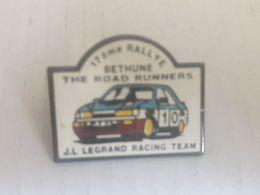 PINS 17 EME RALLYE DE BETHUNE JL LEGRAND RACING TEAM - Rallye