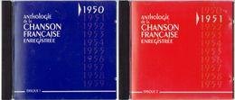 Anthologie De La Chanson Française Enregistrée (années 1950/59) Collection Complète De 10 CD - Compilations