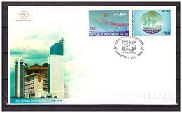 Indonesia 1996 FDC 50 Year HUT Emas Bank BNI - Indonesia
