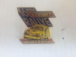 PINS 16 EME RALLYE BETHUNOIS 91 - Rallye