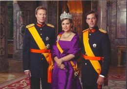 Luxembourg - Grande-Duchesse Maria Teresa, Grand-Duc Heritier Guillaume, Royal Family - Postcard New - Koninklijke Families
