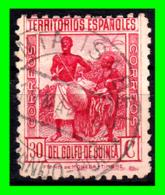 COLONIAS ESPAÑOLAS Y DEPENDENCIAS ( GUINEA TERRITORIOS ESPAÑOLES ) SELLO AÑO 1931 VALOR 30 CENTIMOS DE PESETA - Guinea Española