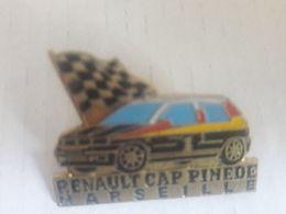 PINS RENAULT CLIO CAP PINEDE MARSEILLE - Rallye