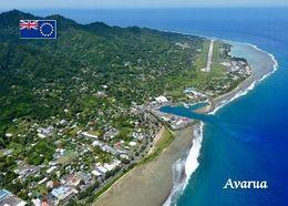 Cook Islands Rarotonga Avarua Aerial View New Postcard Cookinseln AK - Cook Islands