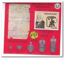 Paraguay 1976, Postfris MNH, 100 Years Telephone - Paraguay