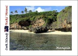 Cook Islands Mangaia Island New Postcard Cookinseln Flughafen AK - Cookeilanden