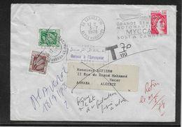 Algérie Taxe Sur Lettre - TB - Argelia (1962-...)
