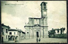 CV3189 MERATE (Lecco LC) Chiesa Prepositurale, FP,  Viaggiata 1935 Per Milano, Buone  Condizioni - Lecco