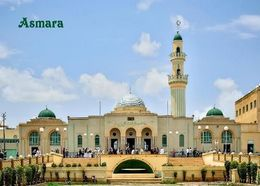 Eritrea Asmara Great Mosque New Postcard - Eritrea
