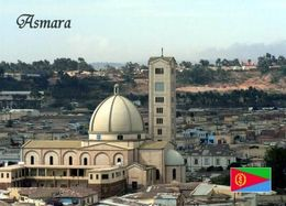 Eritrea Asmara Kidane Mehret Church New Postcard - Eritrea
