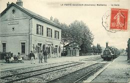 77 LA FERTE GAUCHER - LA GARE - La Ferte Gaucher