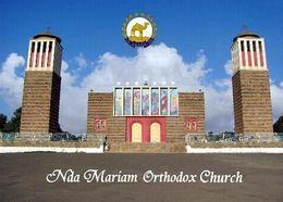 Eritrea Asmara Nda Mariam Othodox Church New Postcard - Eritrea