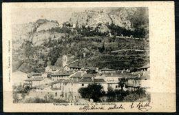 CV3200 VERCURAGO (Lecco LC) Panorama Con Il Santuario Di S. Gerolamo, FP, Viaggiata 1901 Per Milano, Buone  Condizioni - Lecco