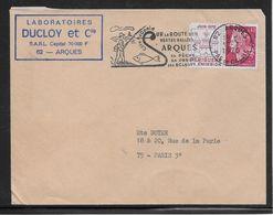 Thème Pêche France - Enveloppe - Stamps