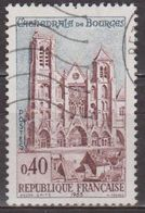 Bourges - FRANCE - Cathédrale Gothique - N° 1453 - 1965 - Used Stamps