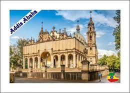 Ethiopia Addis Ababa Holy Trinity Cathedral New Postcard Äthiopien AK - Eglises Et Cathédrales