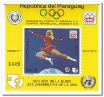 Paraguay 1975, Postfris MNH, Olympic Games - Paraguay