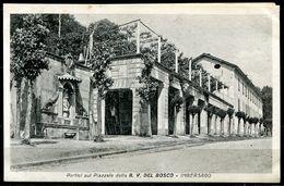CV3244 IMBERSAGO (Lecco LC) Portici Sul Piazzale Della B.V. Del Bosco, FP, Non Viaggiata, Ottime Condizioni - Lecco