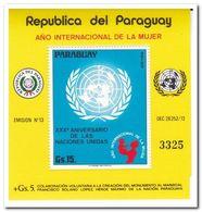 Paraguay 1975, Postfris MNH, 30 Years UNO - Paraguay