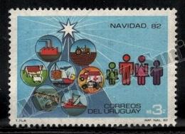 Uruguay 1982 Yvert 1118, Christmas. Family & Christmas Tree - MNH - Uruguay