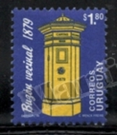 Uruguay 1994 Yvert 1478, Definitive Set, Post. Mailbox - MNH - Uruguay