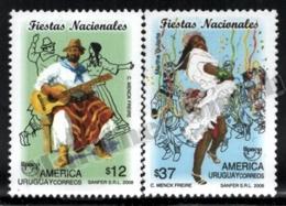 Uruguay 2008 Yvert 2377-78, America UPAEP. Folklore. Culture. National Holidays, Festivals, Music & Dance - MNH - Uruguay