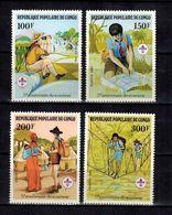 KONGO - Brazzaville , Congo  , 1982 , ** , MNH , Postfrisch , Mi.Nr. 859 - 863 - Congo - Brazzaville
