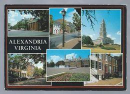 US.- ALEXANDRIA, VIRGINIA. OLD TOWN ALEXANDRIA. Ongelopen. - Alexandria