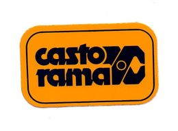 Autocollant Castorama - Format : 10x6 Cm - Aufkleber